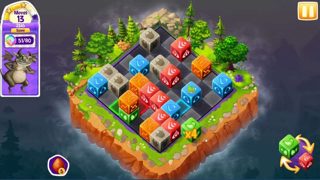 Screenshot from Cubis Kingdoms (3/6)