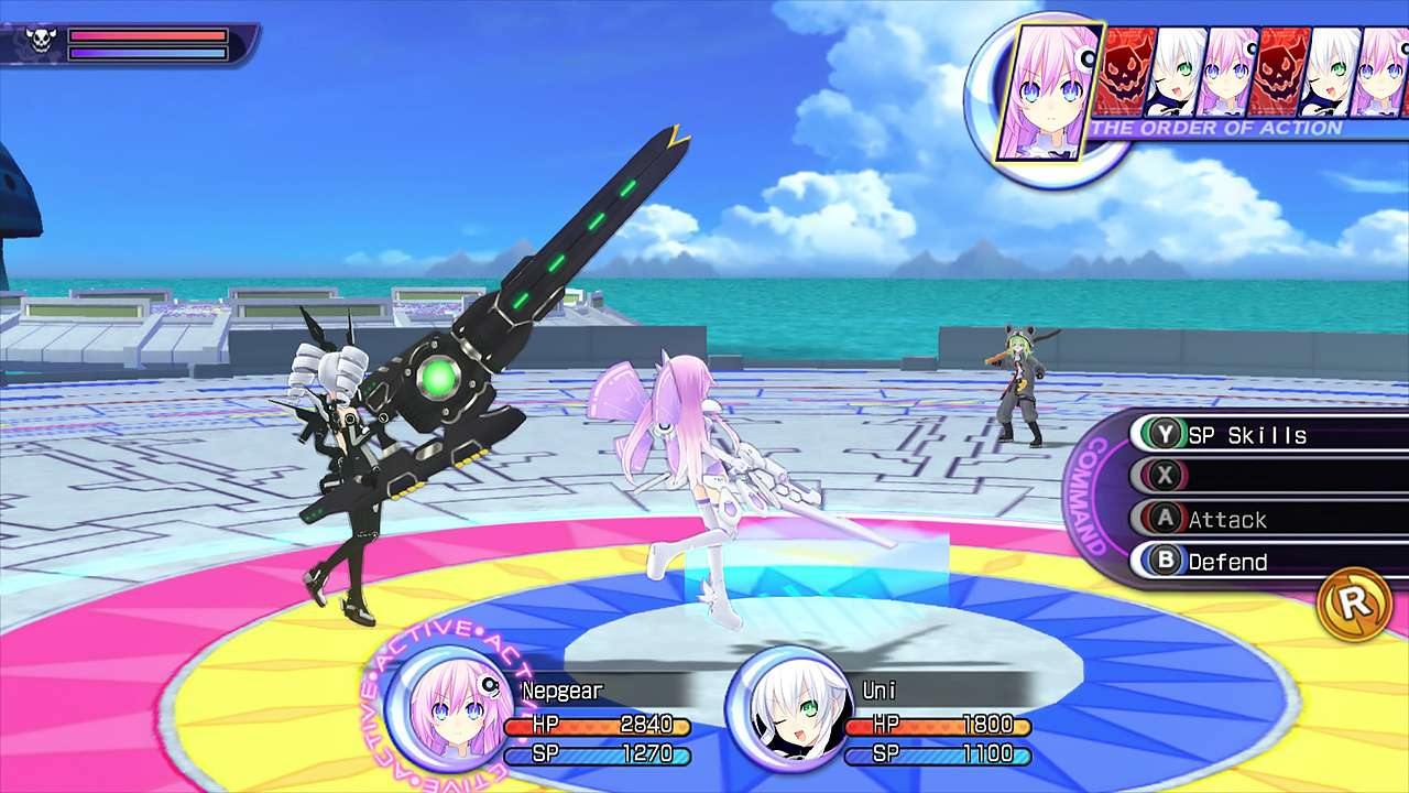 Screenshot from Hyperdimension Neptunia Re;Birth2: Sisters Generation (8/10)