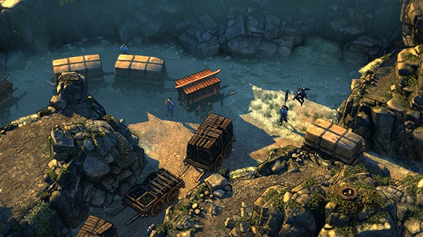 Screenshot from Shadow Tactics: Blades of the Shogun (4/7)