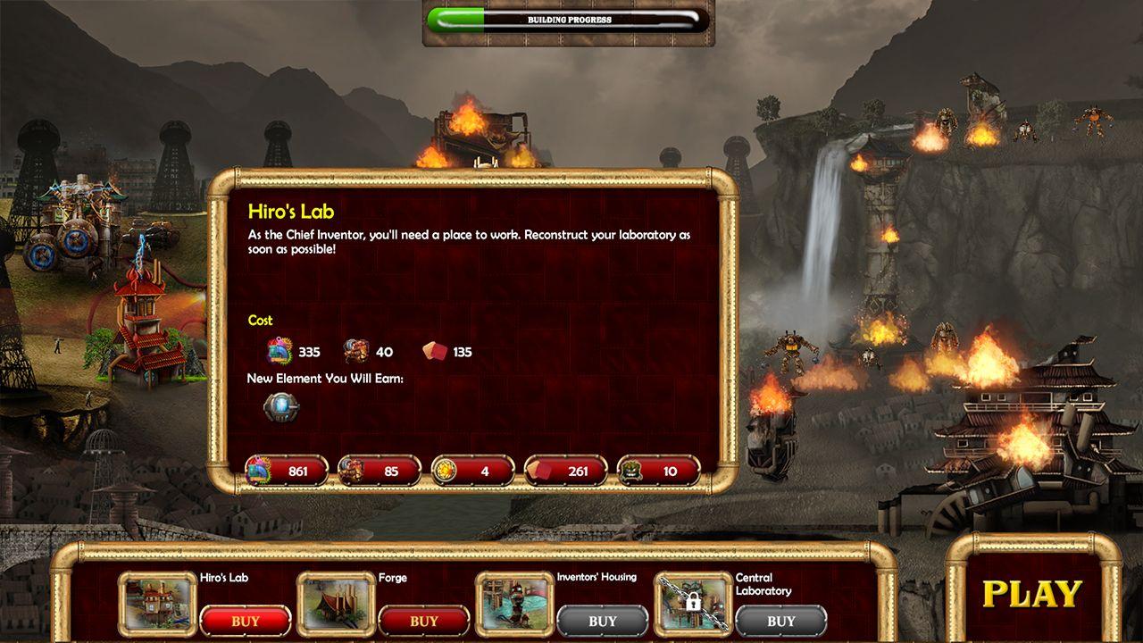 Screenshot from Duskless: The Clockwork Army (1/10)