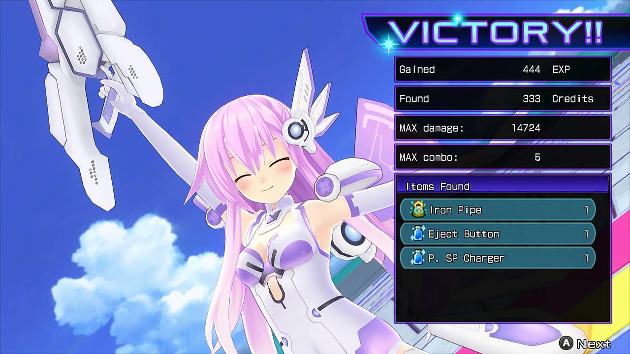 Screenshot from Hyperdimension Neptunia Re;Birth2: Sisters Generation (1/10)