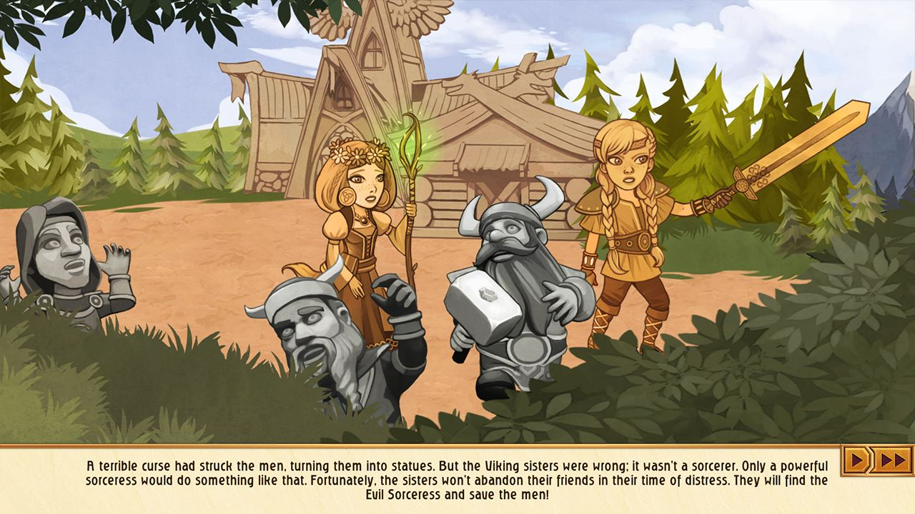 Screenshot from Viking Sisters (3/10)
