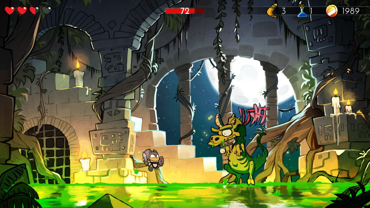 Screenshot from Wonder Boy: The Dragon's Trap (5/10)