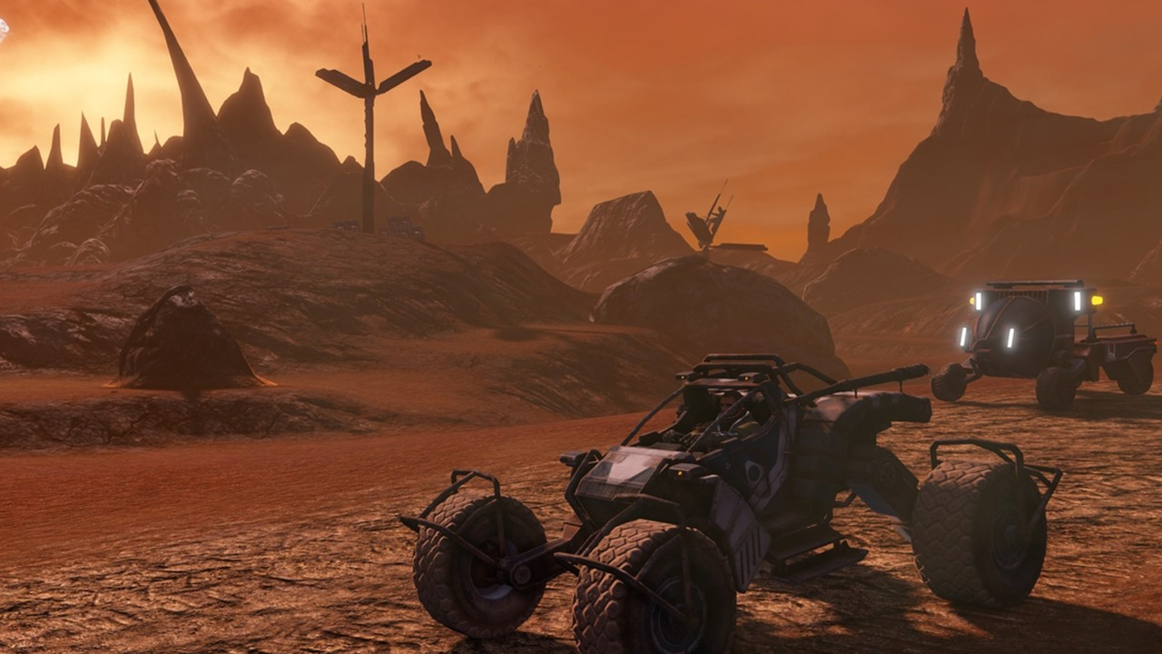 Screenshot from Red Faction Guerrilla Re-MARS-tered (4/6)