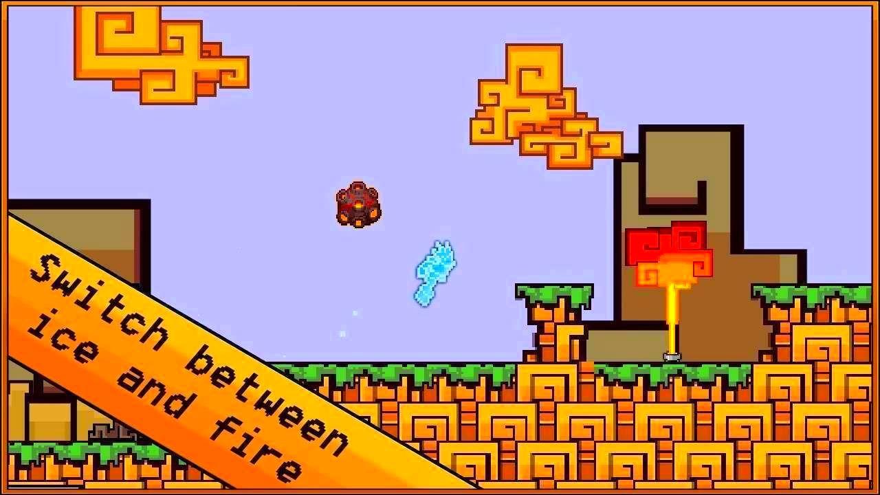 Screenshot from Spirit Run - Fire vs. Ice (1/2)