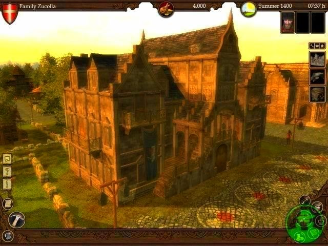 Screenshot from The Guild 2 (3/4)