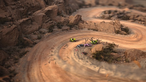 Screenshot from Mantis Burn Racing (3/8)