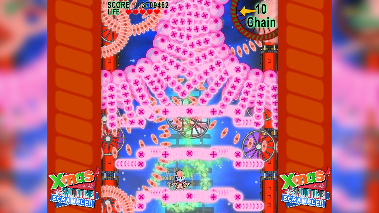 Screenshot from Xmas Shooting - Scramble!! (5/8)