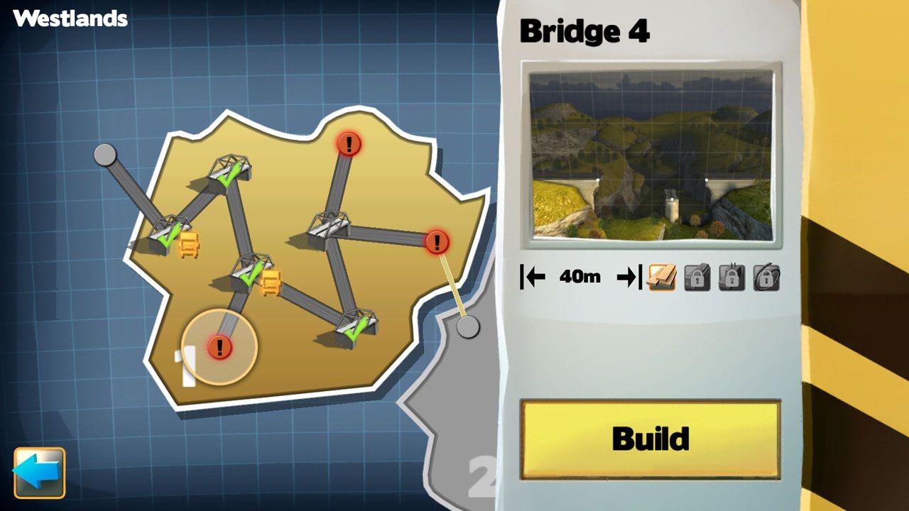 Screenshot from Bridge Constructor (6/7)