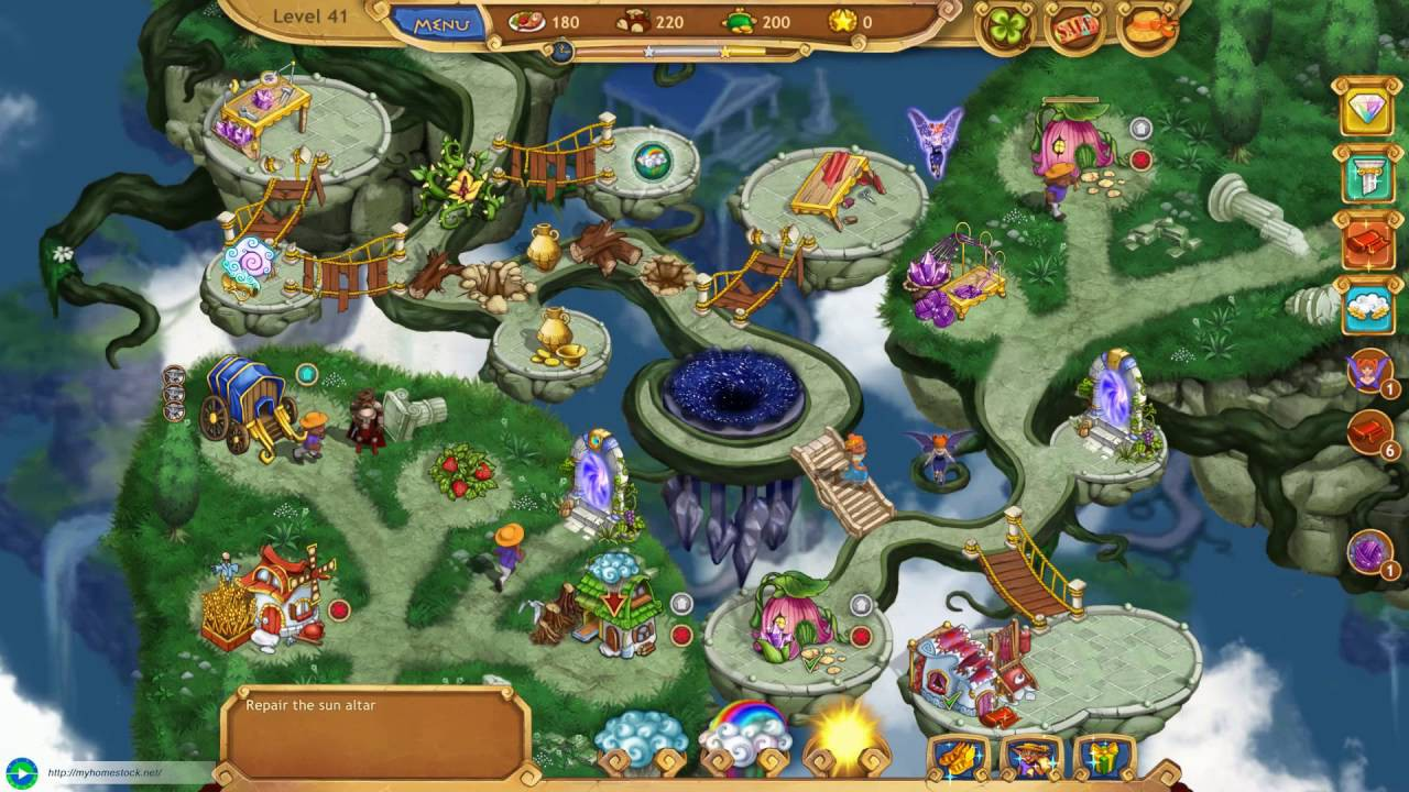 Screenshot from Weather Lord: Royal Holidays Collector's Edition (6/6)