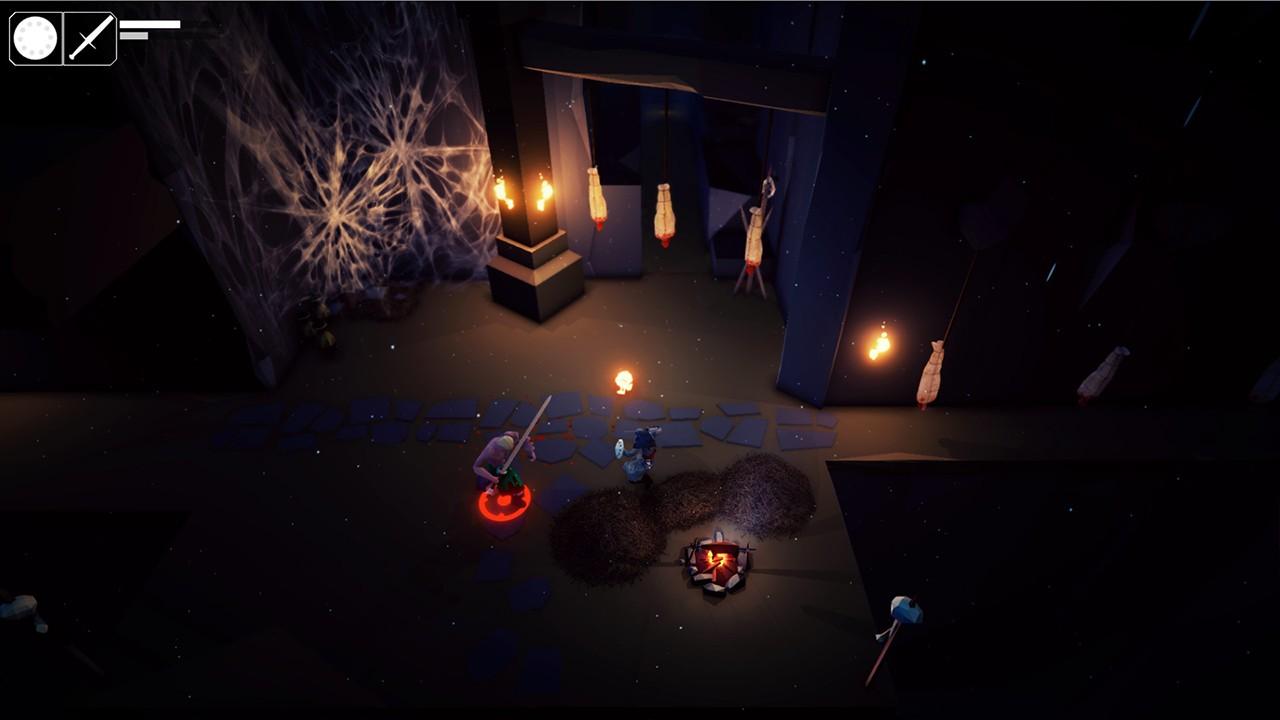 Screenshot from Fall of Light (6/7)