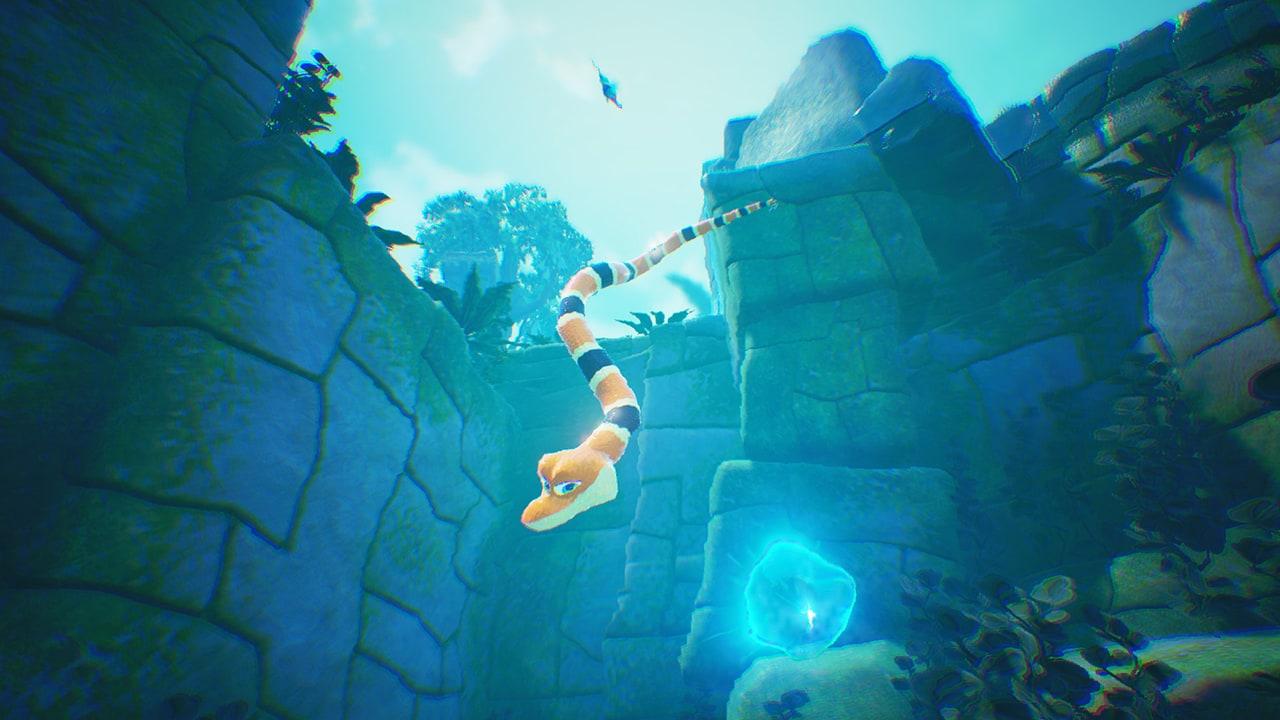 Screenshot from Snake Pass (2/5)