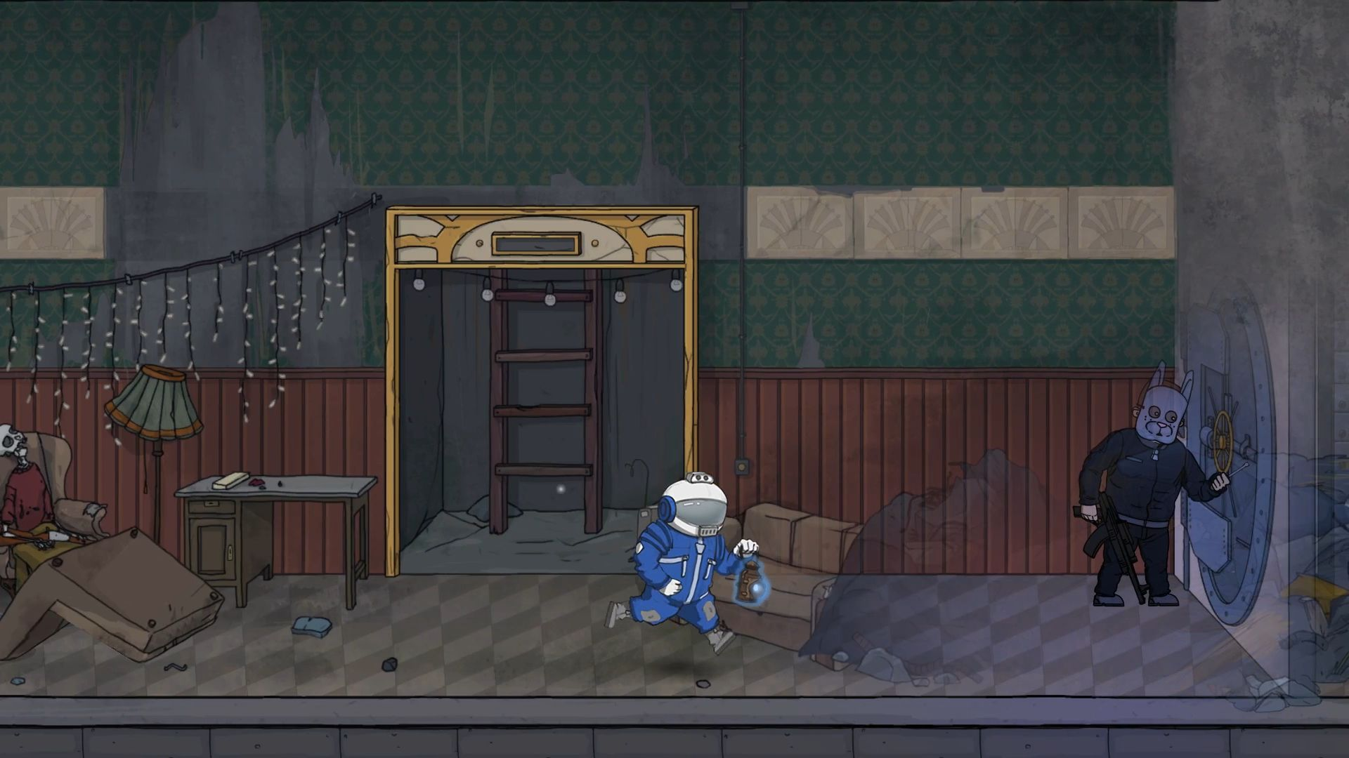 Screenshot from The Great Perhaps (7/10)