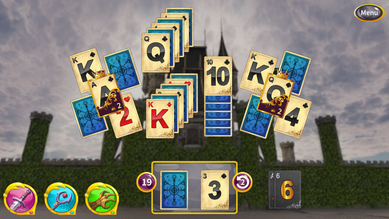 Screenshot from Princess Solitaire (5/5)