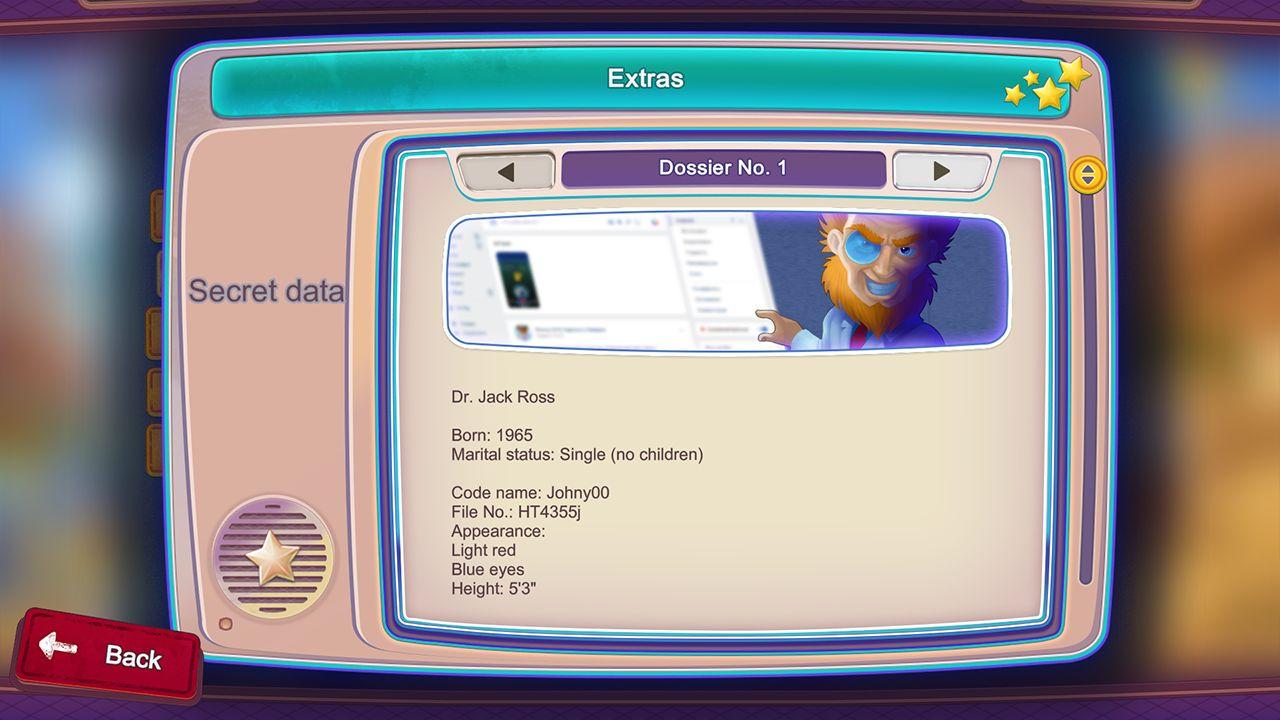 Screenshot from Rescue Team 9: Evil Genius (9/10)
