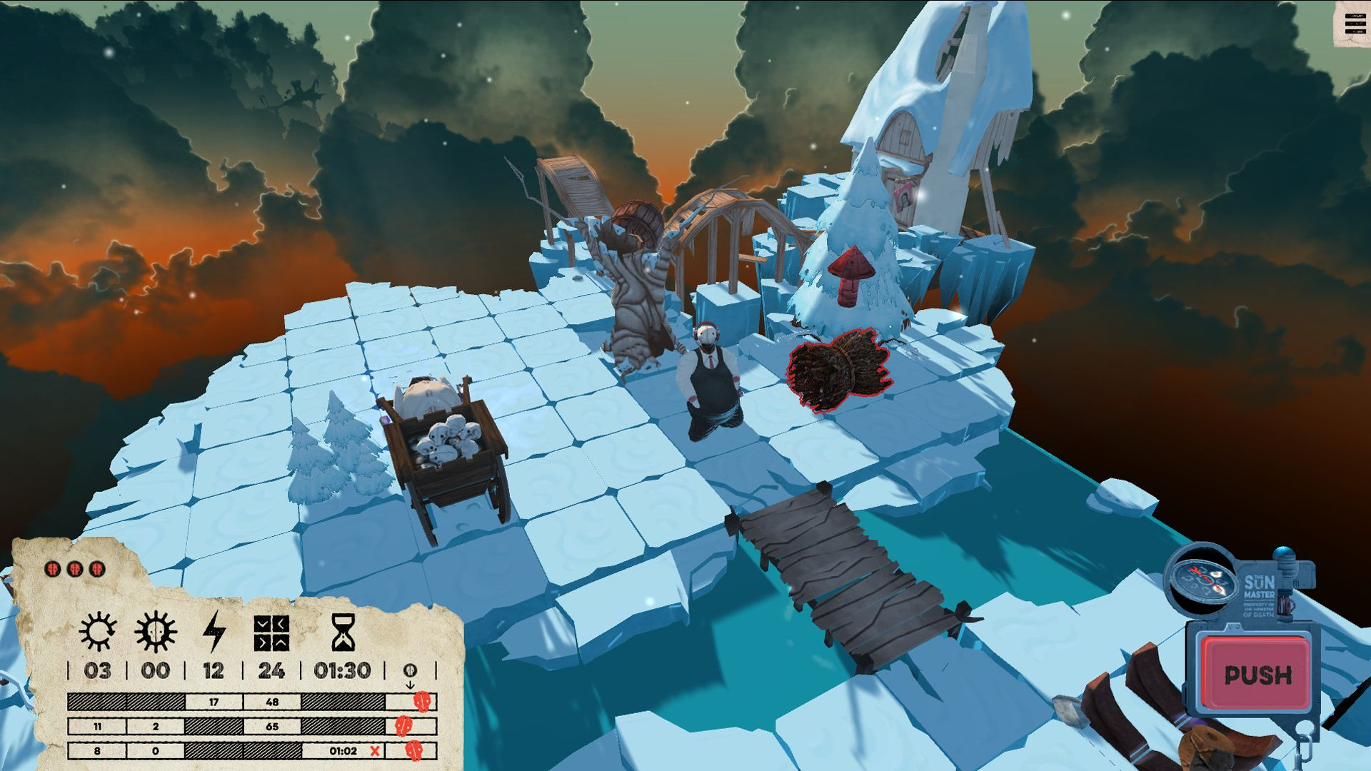 Screenshot from Felix the Reaper (4/10)