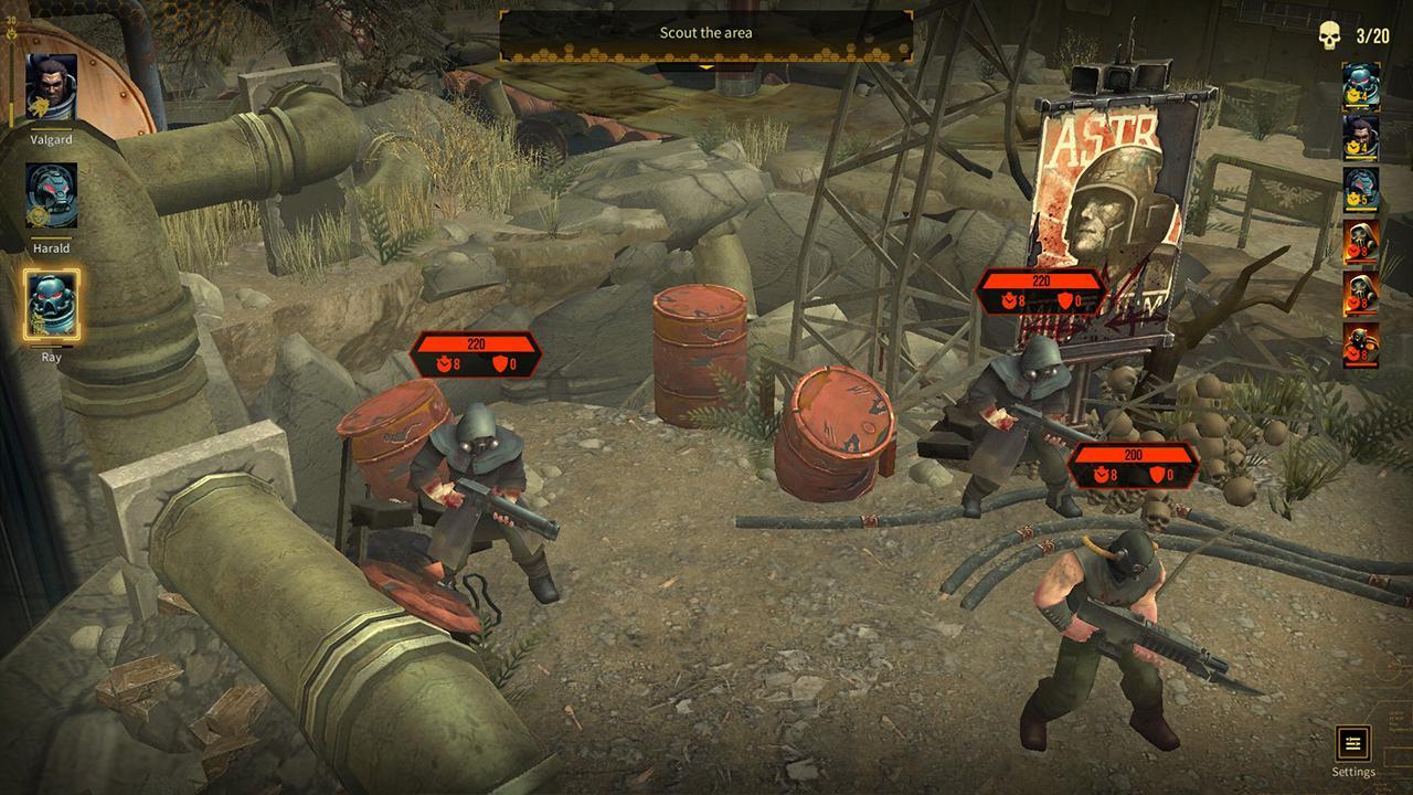 Screenshot from Warhammer 40,000: Space Wolf (3/5)