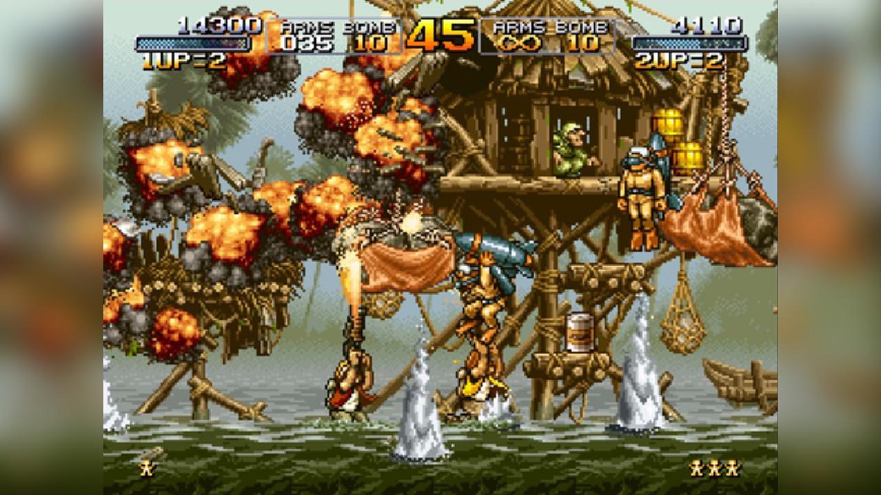 Screenshot from Metal Slug (9/9)