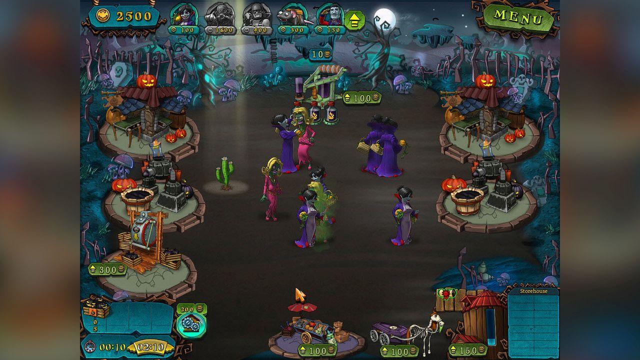 Screenshot from Vampires VS Zombies (2/8)