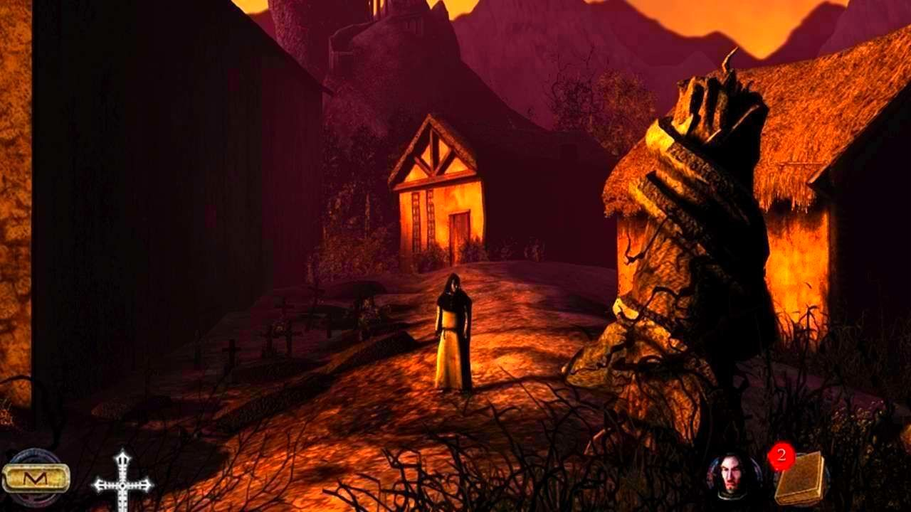 Screenshot from Nicolas Eymerich - The Inquisitor - Book 2: The Village (1/6)