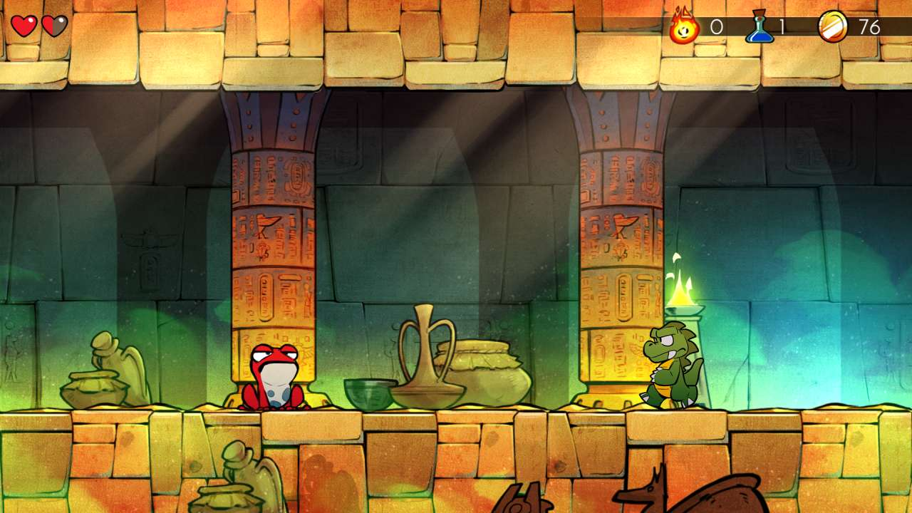 Screenshot from Wonder Boy: The Dragon's Trap (3/10)