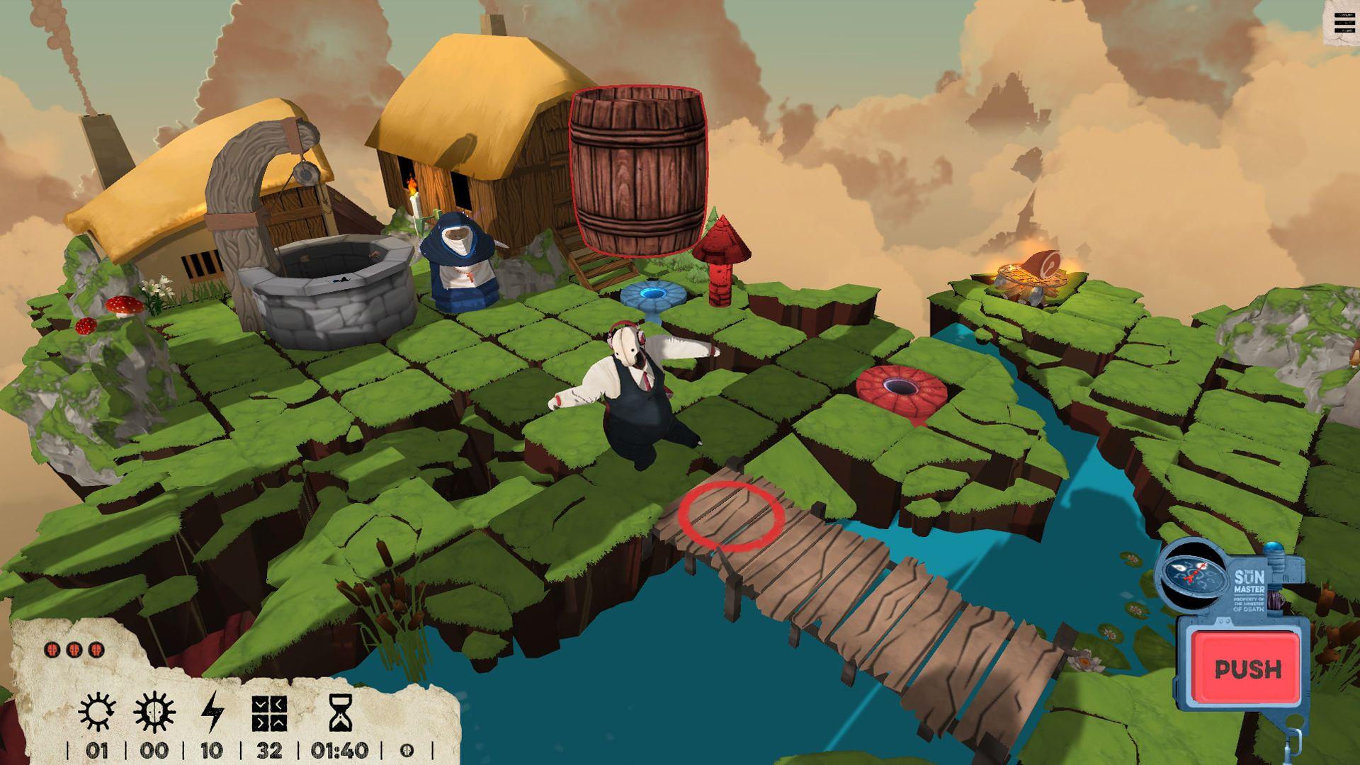 Screenshot from Felix the Reaper (6/10)