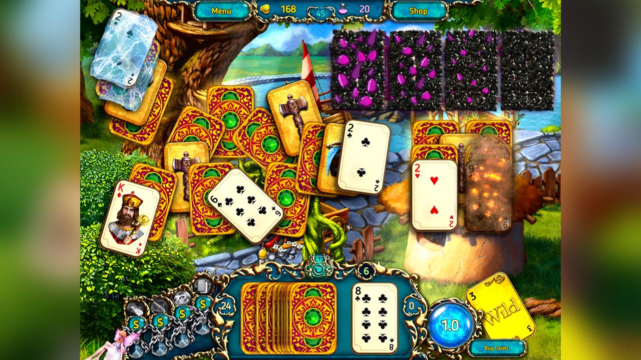 Screenshot from Dreamland Solitaire: Dragon's Fury (7/8)