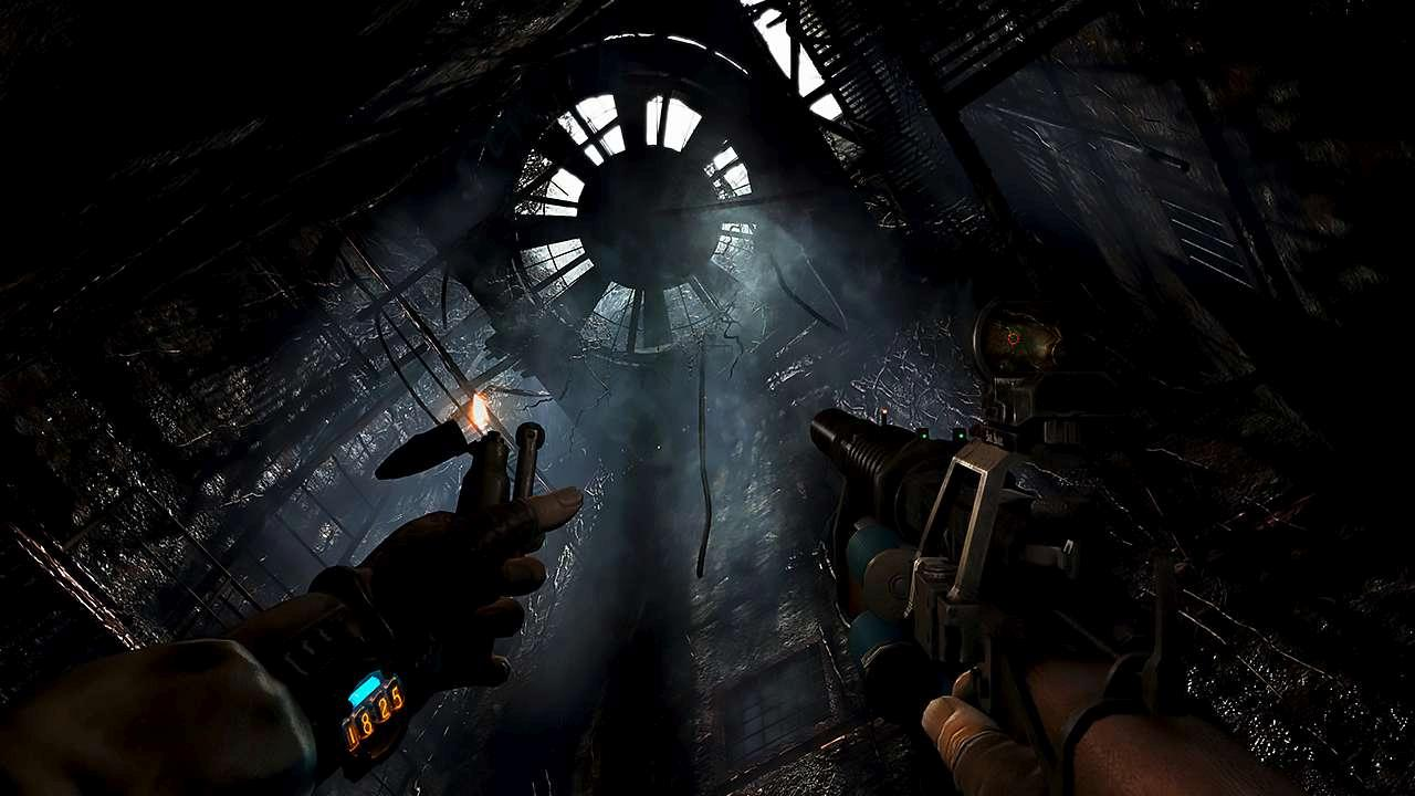 Screenshot from Metro Last Light Redux (1/8)