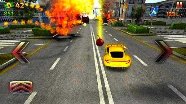 Screenshot from Crash and Burn Racing (3/3)