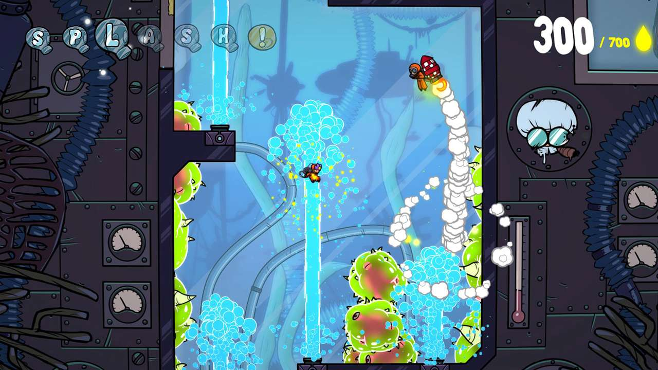 Screenshot from Splasher (3/6)