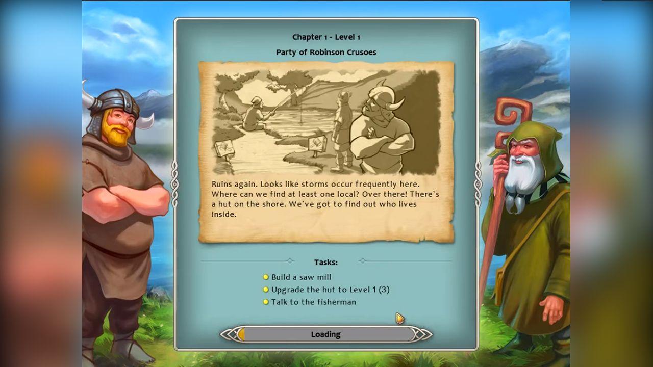 Screenshot from Viking Saga: The Cursed Ring (6/6)