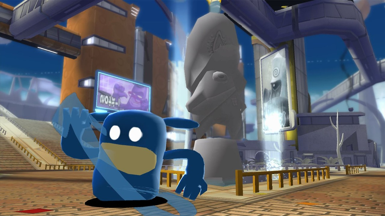 Screenshot from De Blob 2 (6/6)