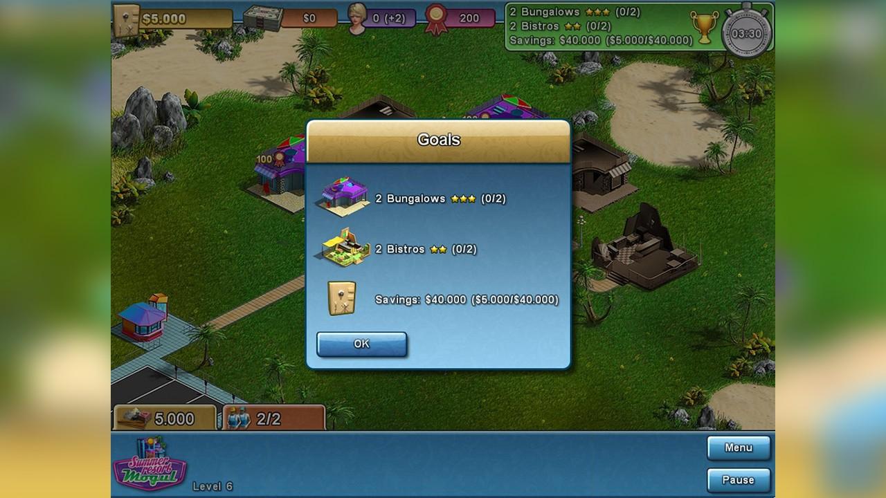 Screenshot from Summer Resort Mogul (5/5)