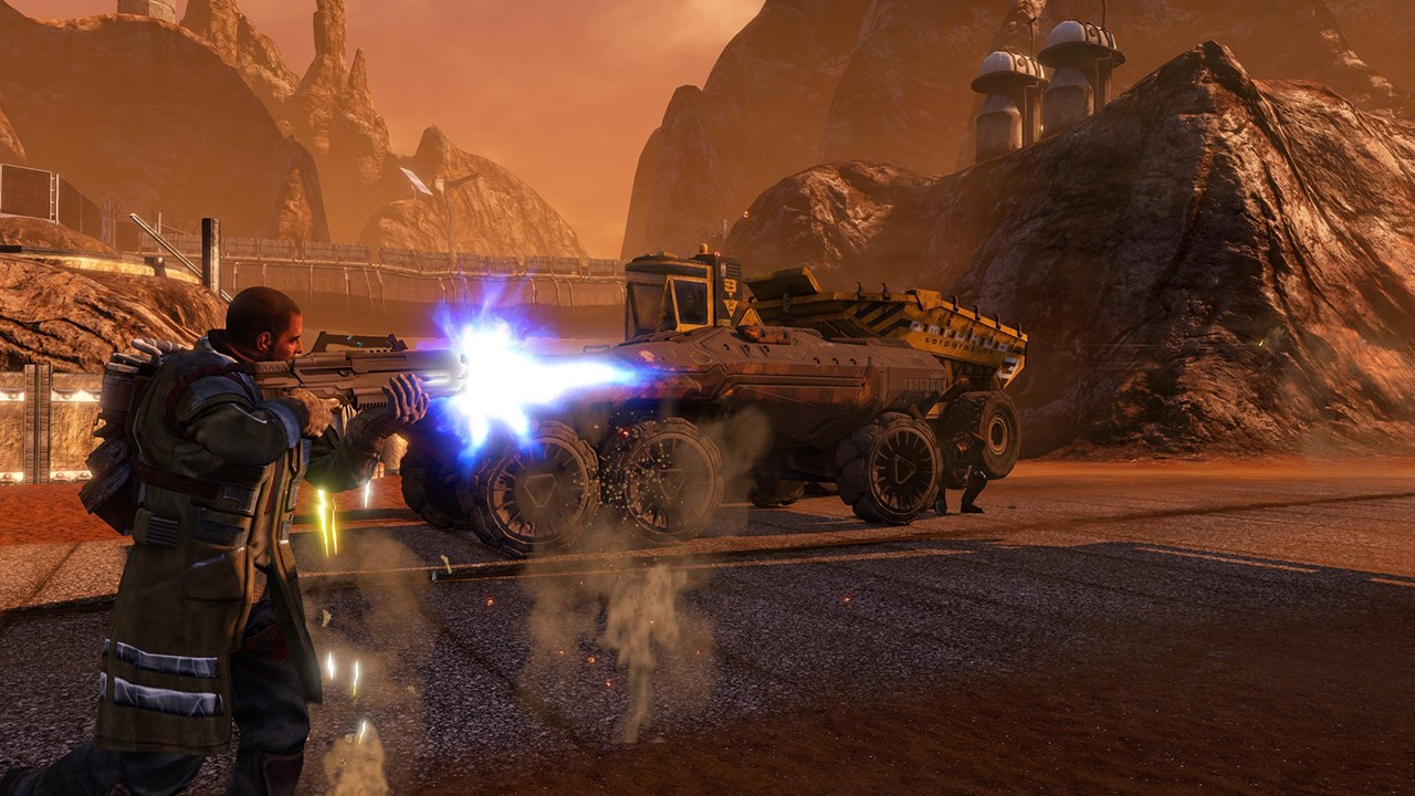 Screenshot from Red Faction Guerrilla Re-MARS-tered (2/6)