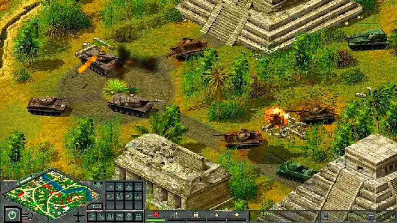 Screenshot from Cuban Missile Crisis: Ice Crusade (1/7)