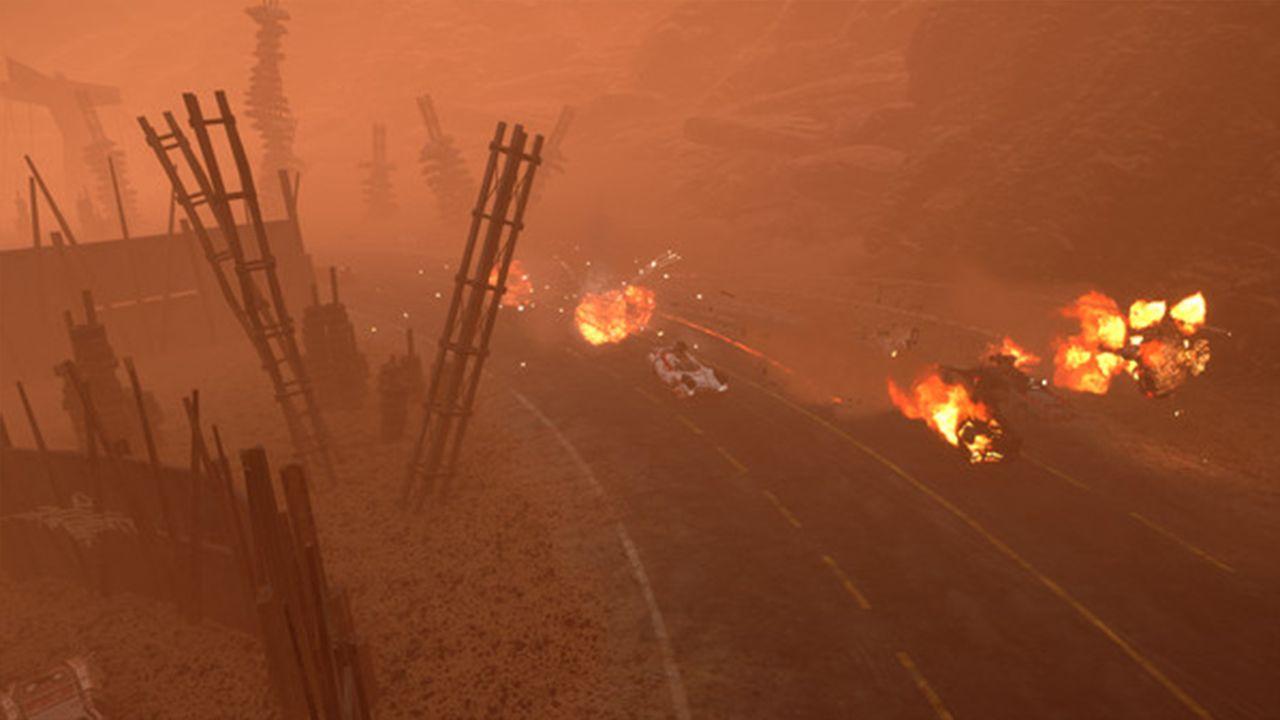 Screenshot from Dark Future: Blood Red States (2/8)