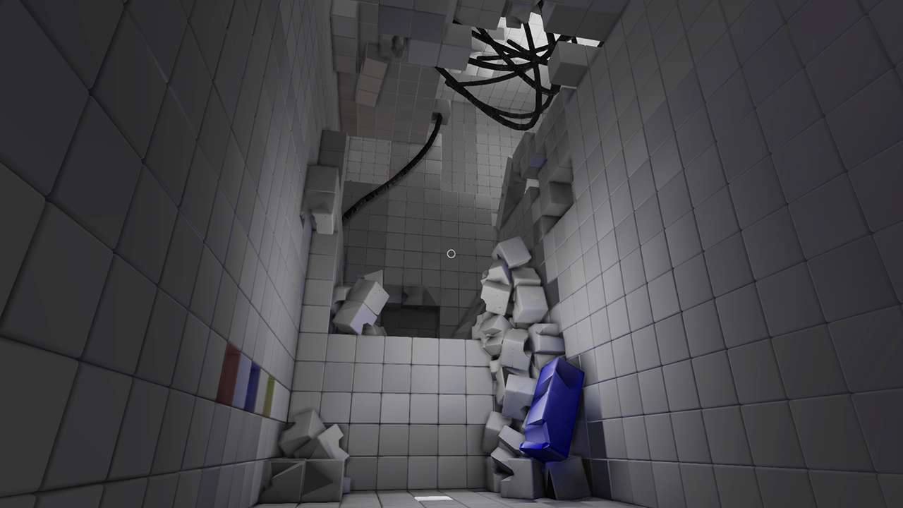 Screenshot from Q.U.B.E. Director's Cut (9/10)
