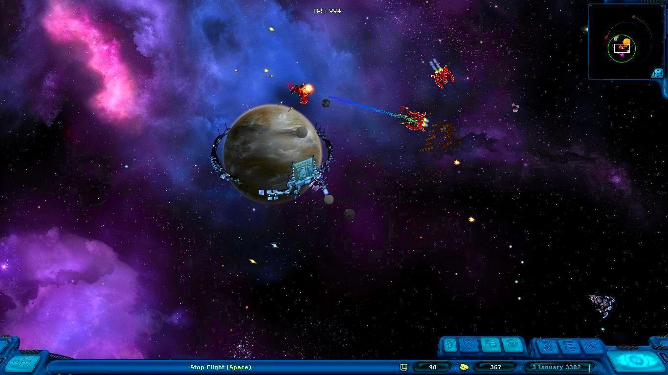 Screenshot from Space Rangers HD: A War Apart (4/6)