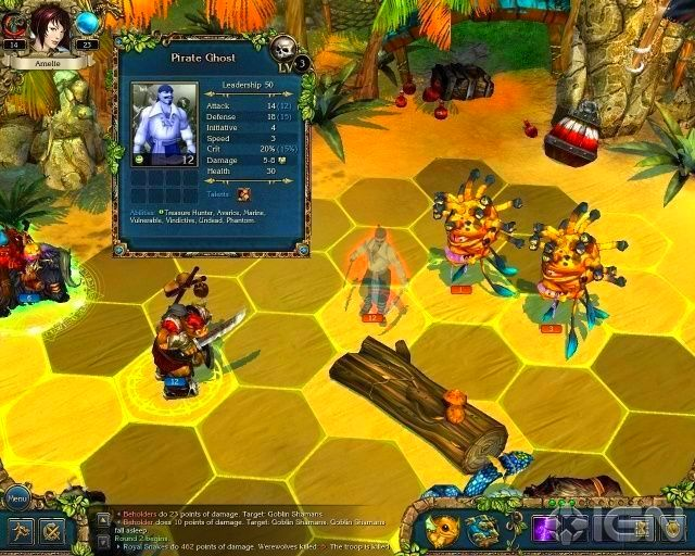 Screenshot from King's Bounty: Crossworlds (5/5)