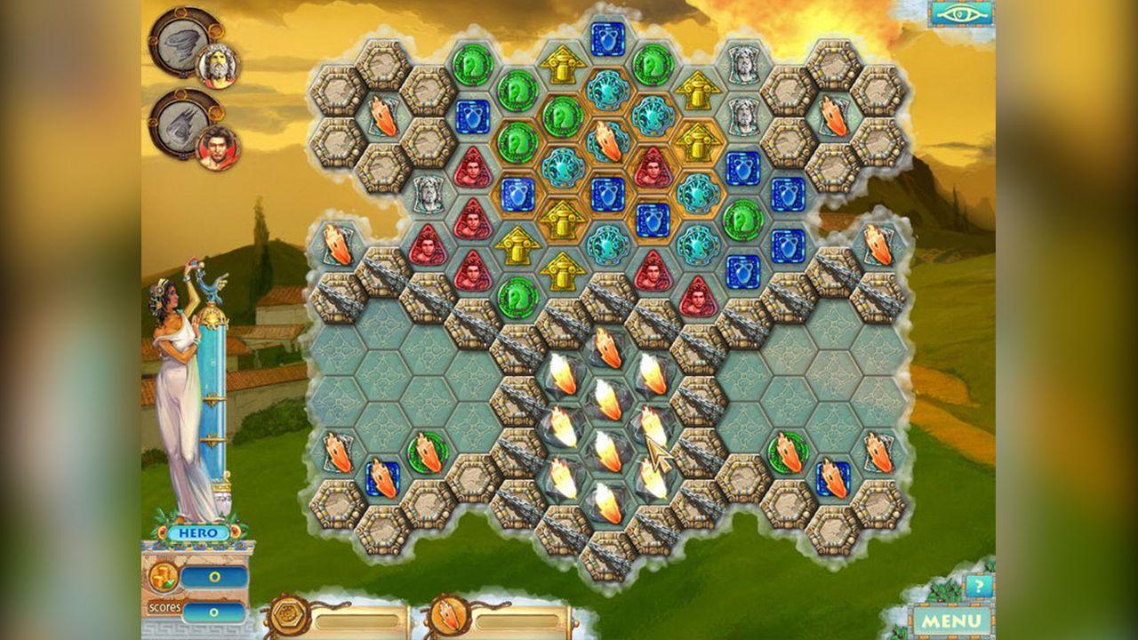 Screenshot from Heroes of Hellas 2: Olympia (3/8)