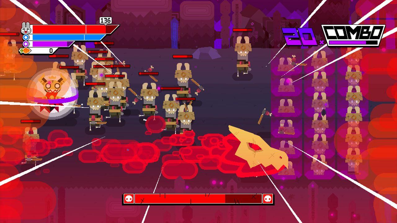 Screenshot from Ninjin: Clash of Carrots (1/9)