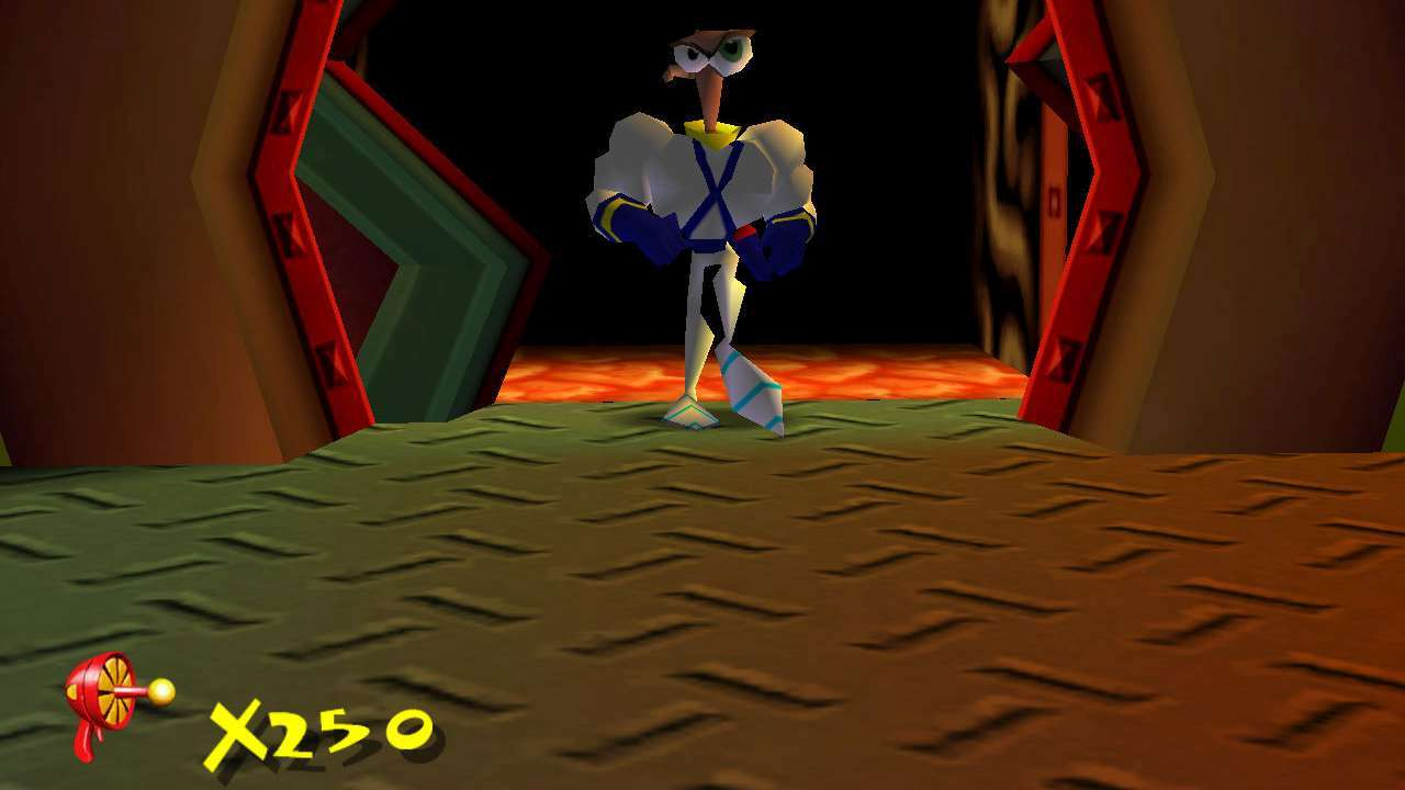 Screenshot from Earthworm Jim 3D (4/7)