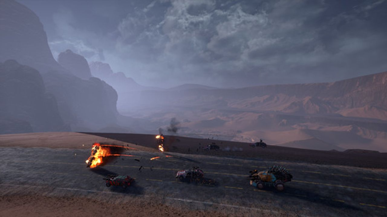 Screenshot from Dark Future: Blood Red States (6/8)