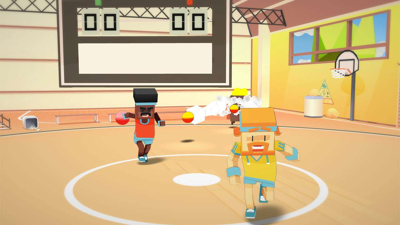 Screenshot from Stikbold! A Dodgeball Adventure (8/9)