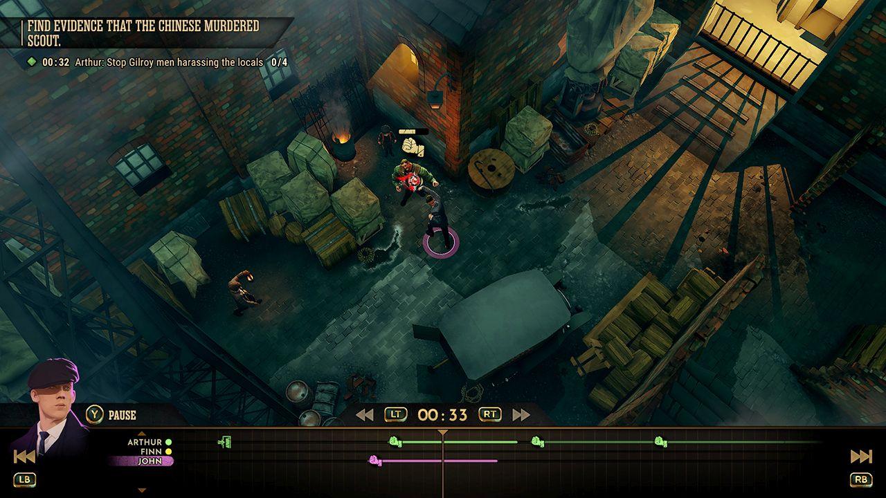 Screenshot from Peaky Blinders: Mastermind (2/7)
