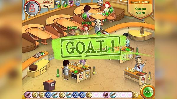 Screenshot from Amelie's Café (4/5)