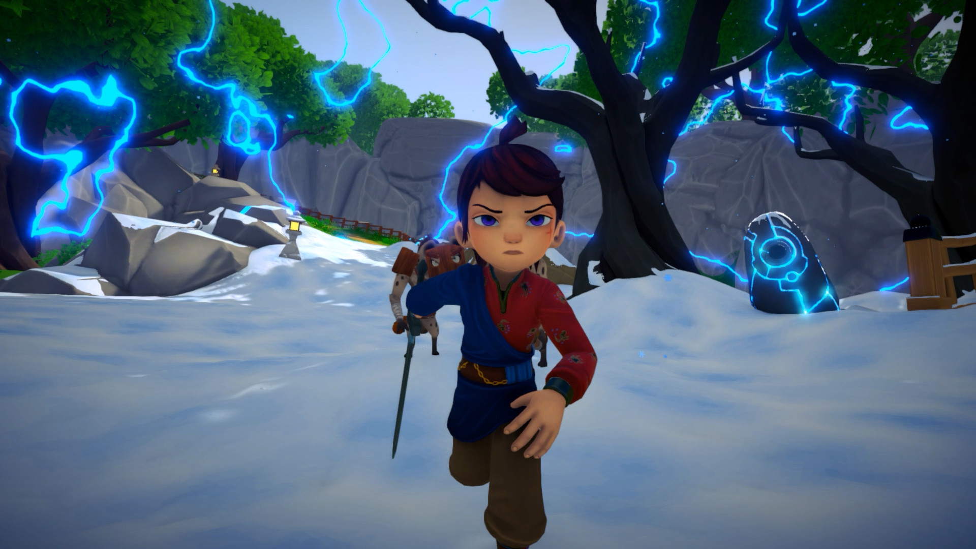 Screenshot from Ary and the Secret of Seasons (4/10)