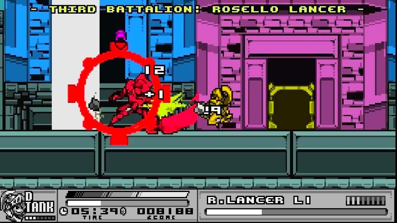 Screenshot from The Joylancer: Legendary Motor Knight (1/7)