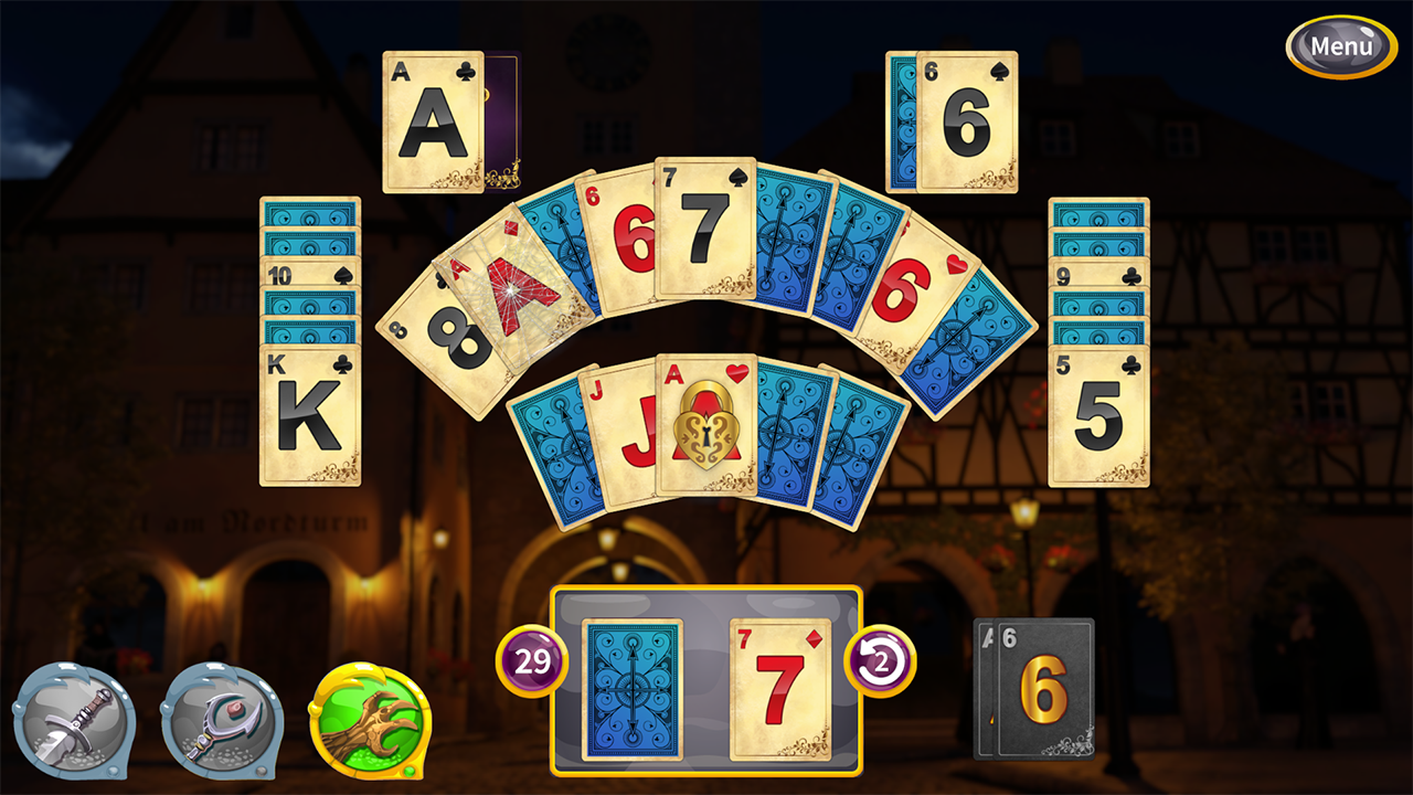 Screenshot from Princess Solitaire (2/5)