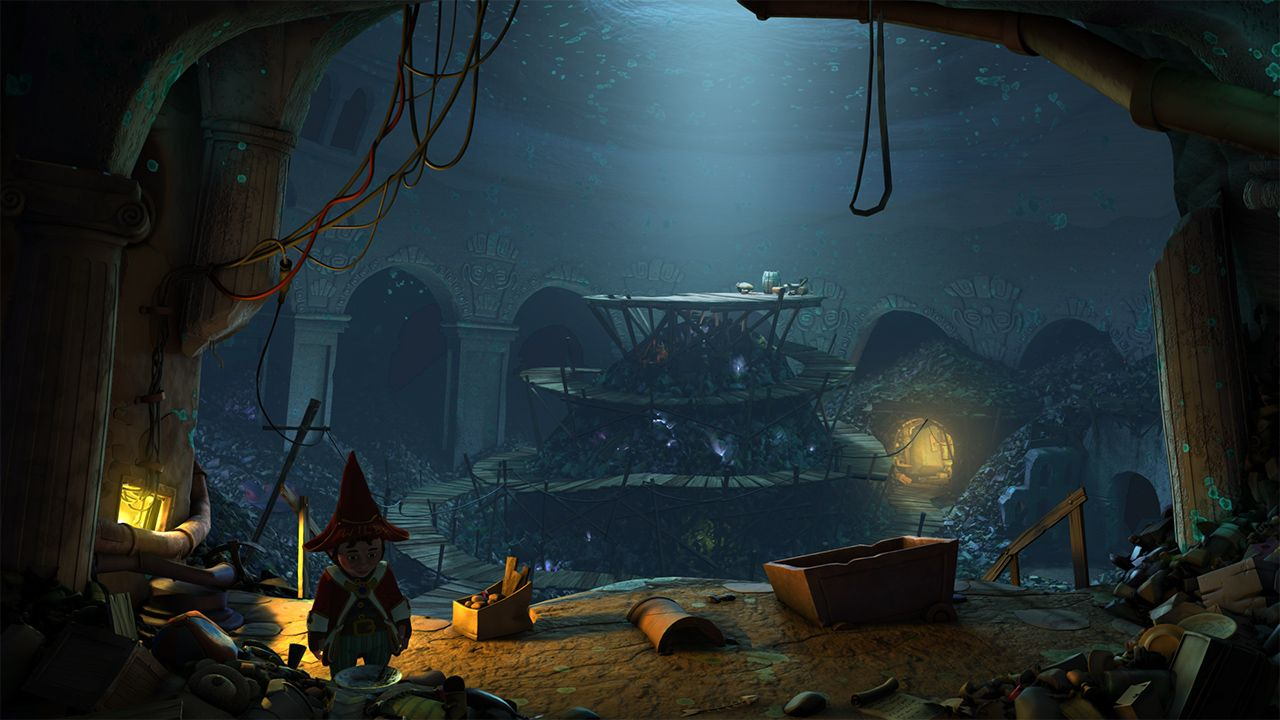 Screenshot from The Book of Unwritten Tales 2 (4/5)
